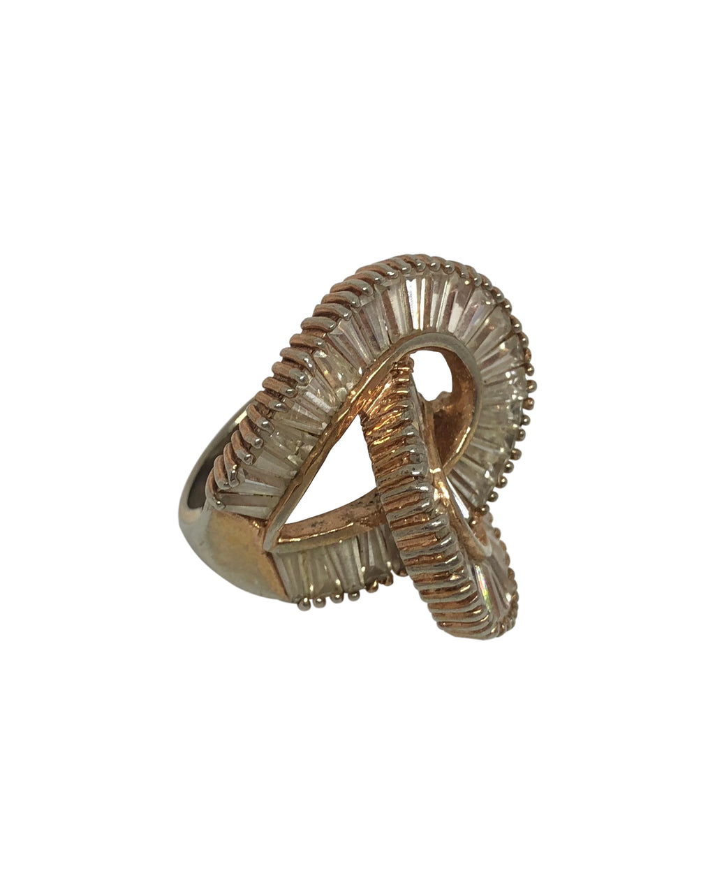 Inter-Linked Stone Ring