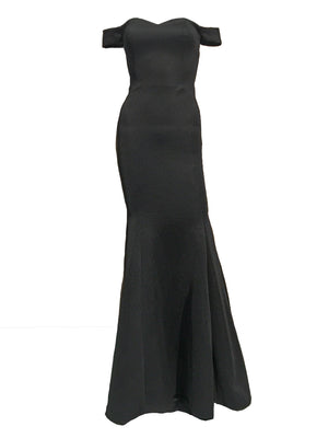 Ophelia Off-Shoulder Sweetheart Gown - Pia Gladys Perey - Covetella Dress Rentals
