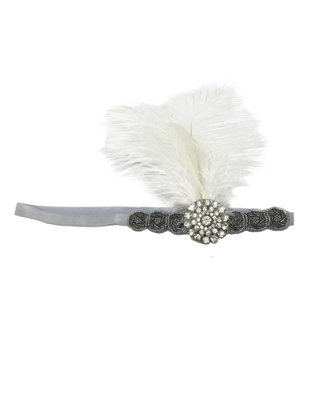 Beaded Gatsby Headband - Covetella - Covetella Dress Rentals