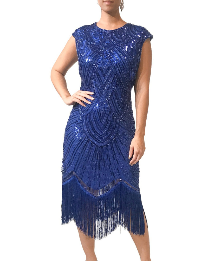 Tassel Gatsby Cocktail Dress
