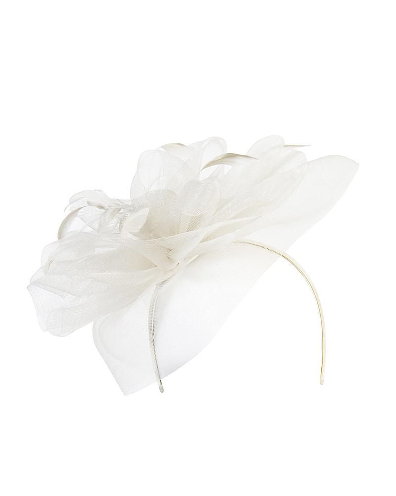 Ruffle Headband Fascinator by Jolie - Rent or Buy It at Covetella