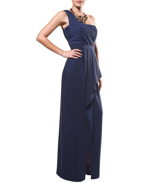 One-Shoulder Draped Dress - BCBG - Covetella Dress Rentals