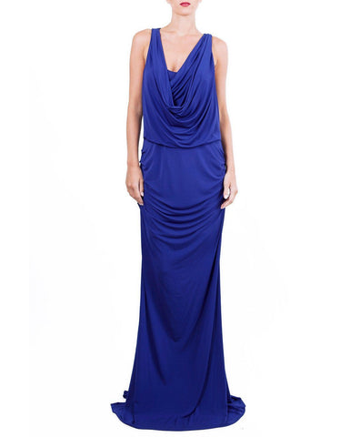 Cowl Neck Drapped Dress - BCBG - Covetella Dress Rentals