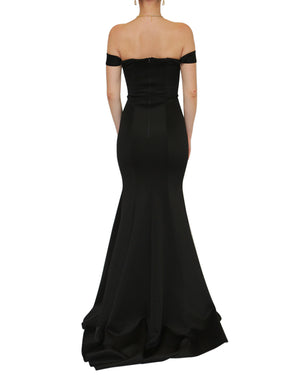 Ophelia Off-Shoulder Sweetheart Gown
