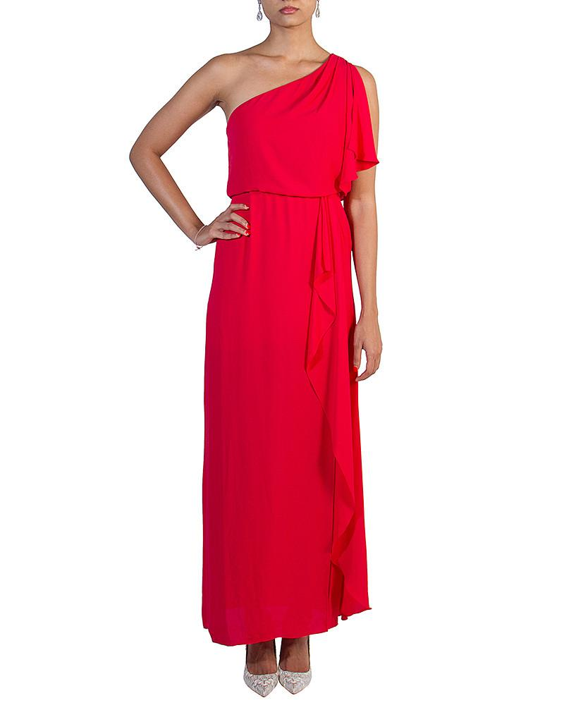 One-Shoulder Cascading Dress by BCBG - Rent or Buy It at Covetella