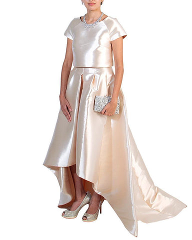 Top & Skirt Evening Outfit - John Paul Ataker - Covetella Dress Rentals