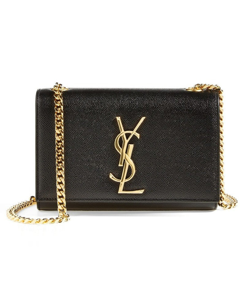 Small Monogramme Chain Bag Black