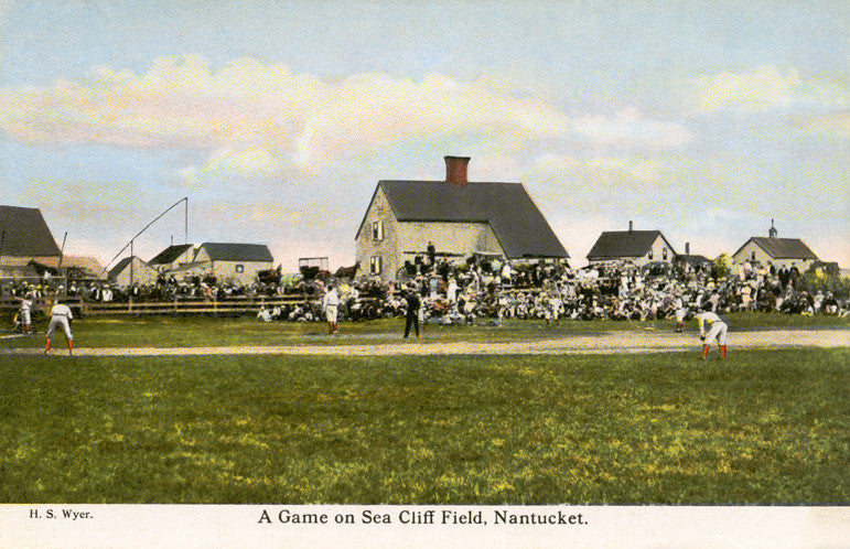 Nantucket - Baseball, Sea Cliff Field Night Light - That Fabled Shore Home Decor