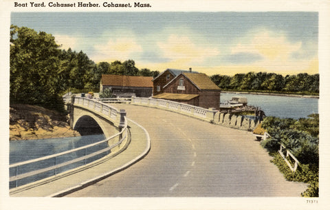Cohasset Bridge - Cohasset, MA Night Light - That Fabled Shore Home Decor