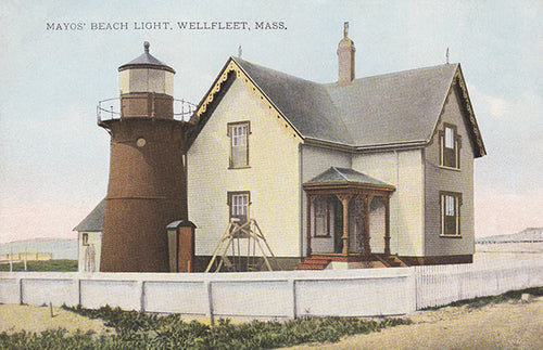 Wellfleet, MA - Mayo's Beach Light Night Light - That Fabled Shore Home Decor