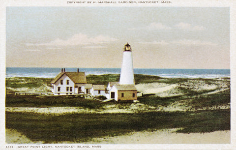 Nantucket - Great Point Light Night Light - That Fabled Shore Home Decor