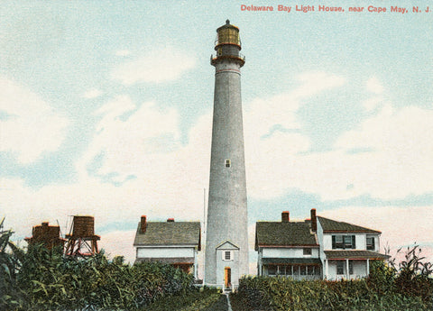 NJ - Delaware Bay Light (Cape May) Night Light - That Fabled Shore Home Decor