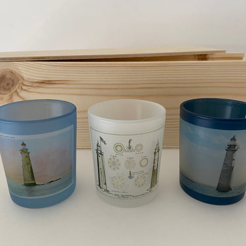 Custom Tea Light Candle Set (3)