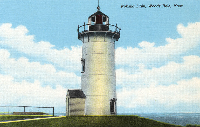 Woods Hole - Nobska Light Night Light - That Fabled Shore Home Decor