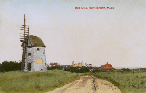 Dennisport, MA Cape Cod - Old Wind Mill Night Light - That Fabled Shore Home Decor