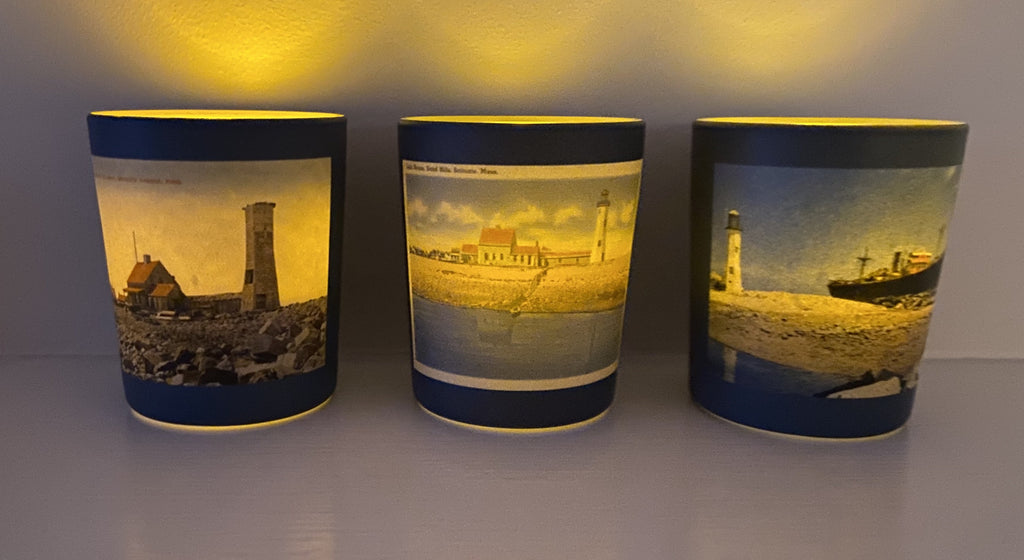 Set of 3 Scituate Light Tea Light Candle Holders