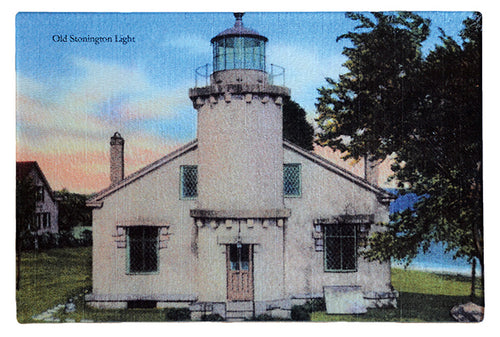 CT- Old Stonington Light - That Fabled Shore Home Decor