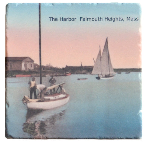 Falmouth - Harbor Coaster Set (4) - That Fabled Shore Home Decor