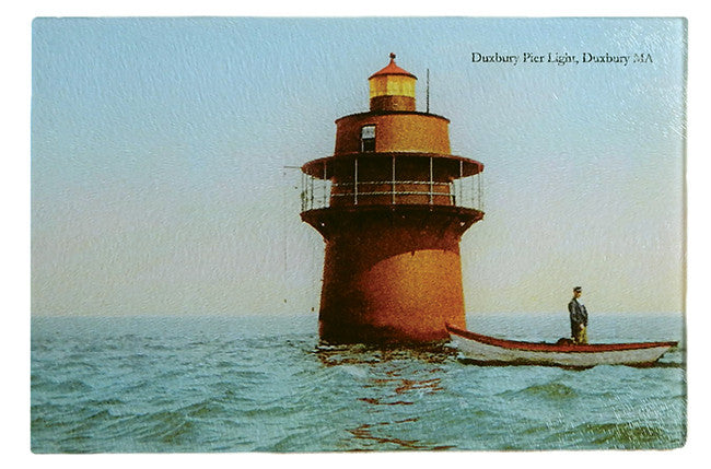Duxbury - Pier Light Glass Cutting Board - That Fabled Shore Home Decor
