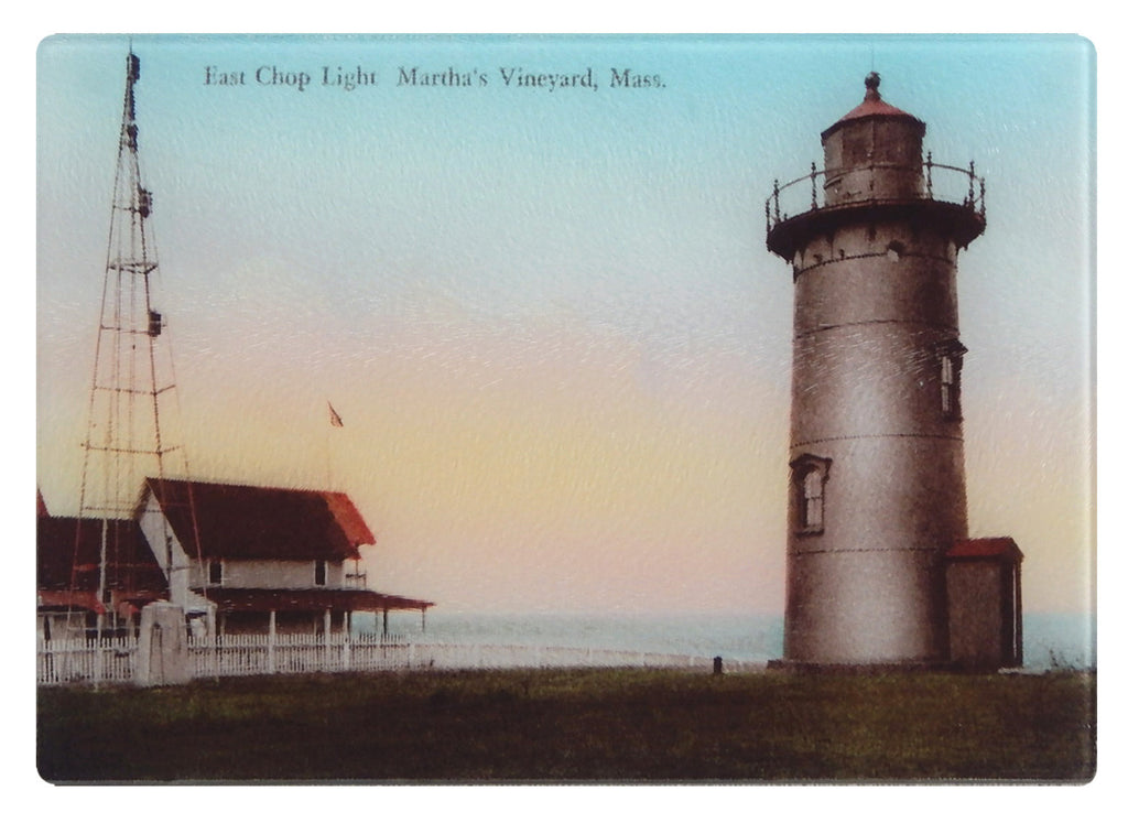 Martha's Vineyard - East Chop Light Glass Cutting Board - That Fabled Shore Home Decor