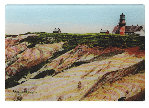 Martha's Vineyard - Gay Head Light Glass Cutting Board