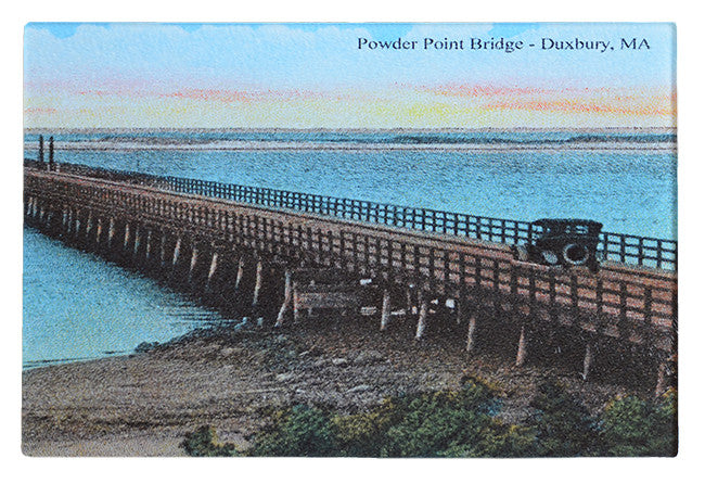 Duxbury - Powder Point Bridge Glass Cutting Board - That Fabled Shore Home Decor