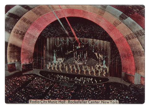 NY - Radio City Music Hall Cutting Board