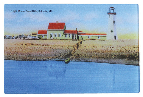 Scituate Light - Glass Cutting Board