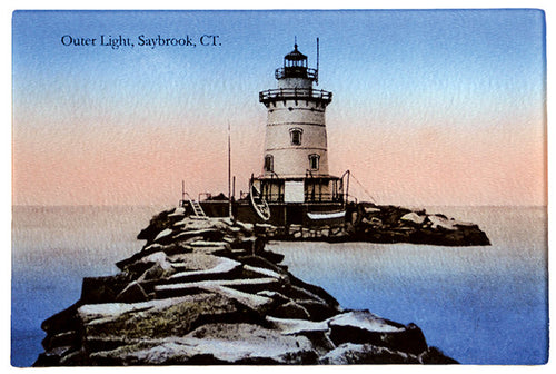 CT - Saybrook Outer Light Glass Cutting Board - That Fabled Shore Home Decor