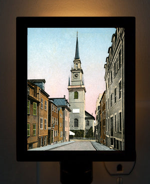 Boston - Old North Church Night Light - That Fabled Shore Home Decor
