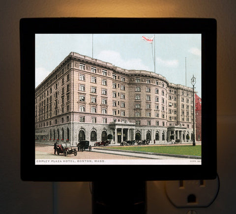 Copley Plaza Hotel Night Light - That Fabled Shore Home Decor