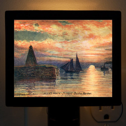 Nixes Mate - Sunset Night Light - That Fabled Shore Home Decor