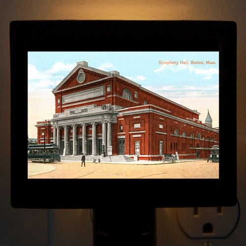 Boston - Symphony Hall Night Light - That Fabled Shore Home Decor