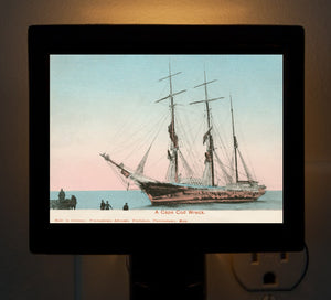Provincetown - Shipwreck Night Light - That Fabled Shore Home Decor