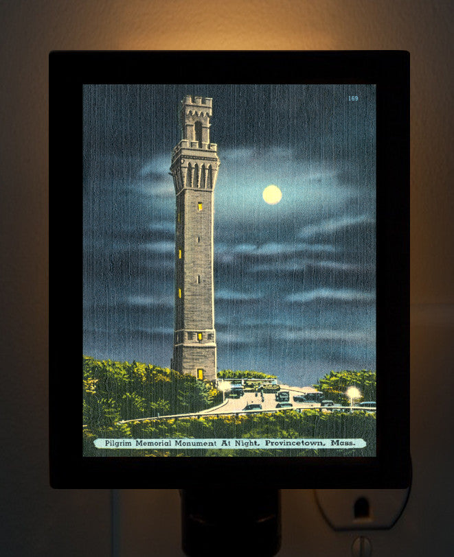 Provincetown - Pilgrim Memorial Night Light - That Fabled Shore Home Decor