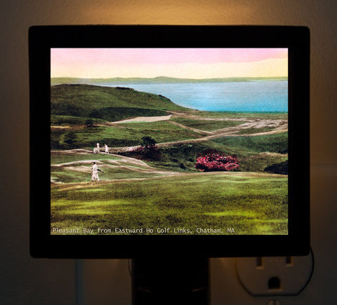 Eastward Ho Golf Course Chatham, MA Night Light - That Fabled Shore Home Decor