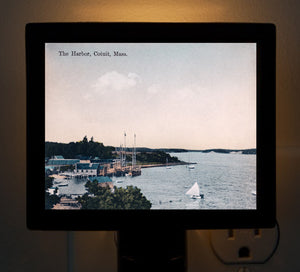 Cotuit Harbor Cape Cod, MA Night Light - That Fabled Shore Home Decor