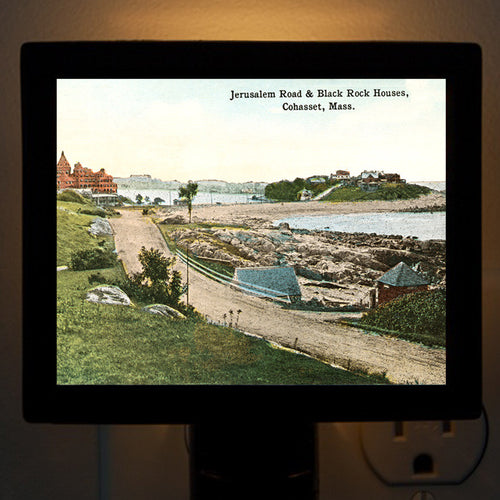 Cohasset MA  Jerusalem Road Night Light - That Fabled Shore Home Decor