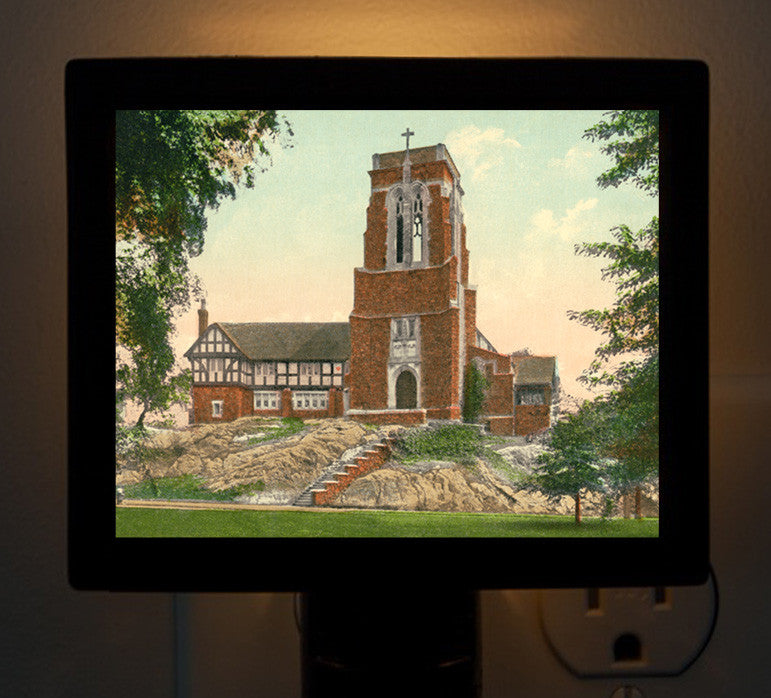 Cohasset, MA - St Stephens Church Night Light - That Fabled Shore Home Decor