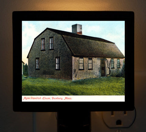 Duxbury - Myles Standish House Night Light