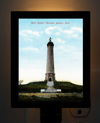 Duxbury - Myles Standish Monument Night Light