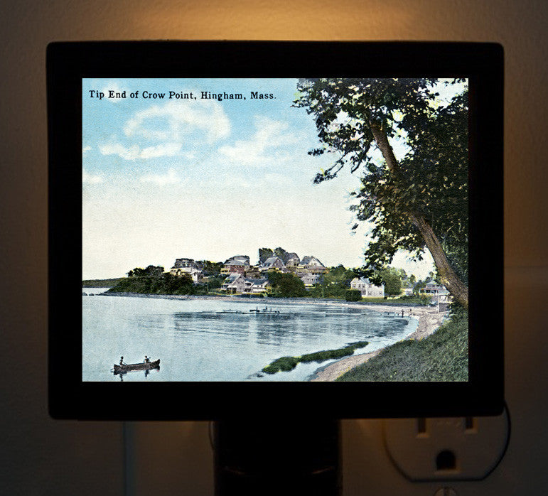 Hingham - Crow Point, Tip End Night Light - That Fabled Shore Home Decor