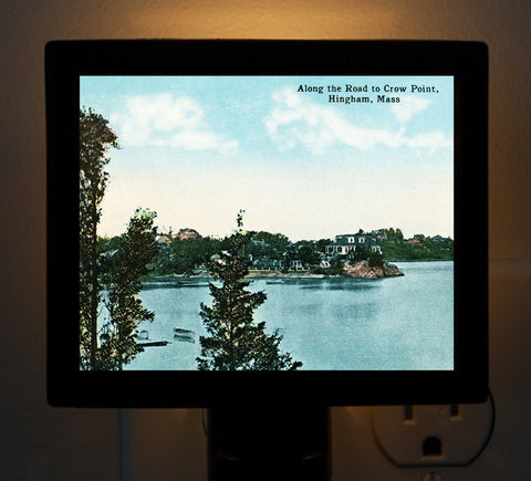 Hingham - Along The Road To Crow Point Night Light - That Fabled Shore Home Decor