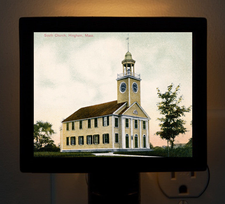 Hingham - South Church Night Light - That Fabled Shore Home Decor