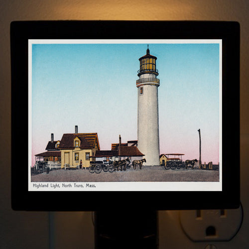 Highland Light, North Truro, MA Night Light - That Fabled Shore Home Decor