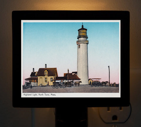 Highland Light, North Truro, MA Night Light
