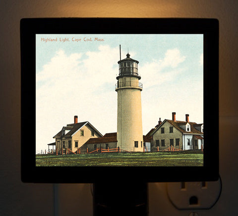 N. Truro Highland Light Night Light - That Fabled Shore Home Decor
