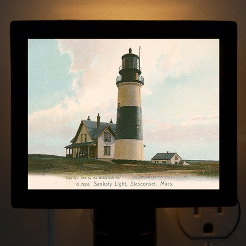 Nantucket - Sankaty Light (4) Night Light - That Fabled Shore Home Decor