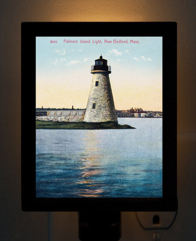 Palmer Island Light - New Bedford, MA Night Light
