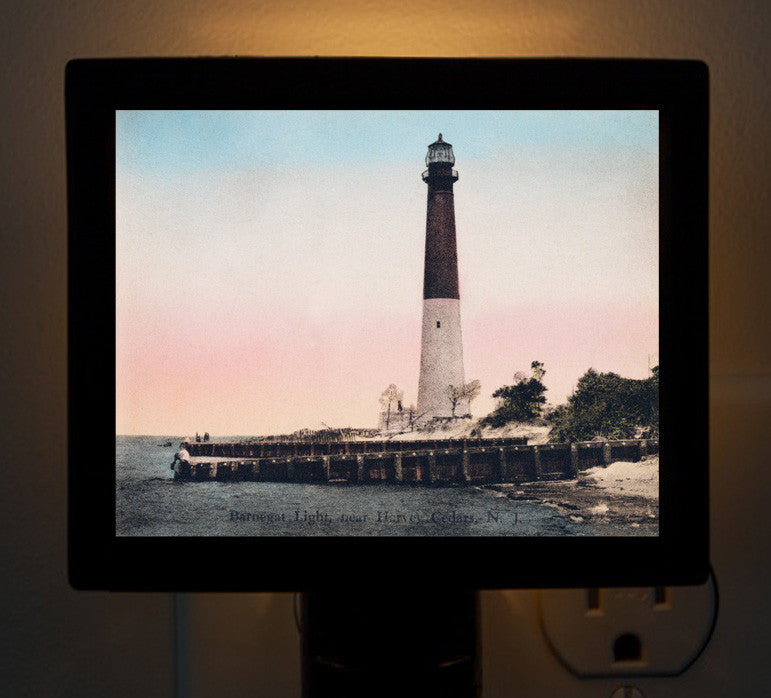 NJ - Barnegat Light Night Light - That Fabled Shore Home Decor